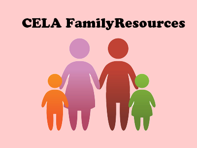 CELA Family Resources Logo