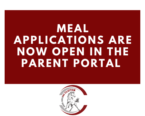 Meal Applications in Portal