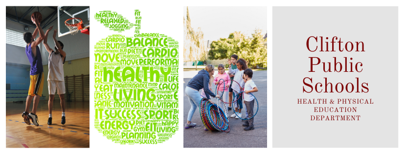 Health and Physical Education images banner